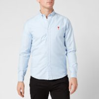 AMI Men's Boutonne Shirt - Light Blue - L