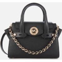 MICHAEL MICHAEL KORS Womens Carmen XS Flap Messenger Bag - Black