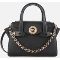MICHAEL MICHAEL KORS Women's Carmen XS Flap Messenger Bag - Black