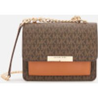 MICHAEL MICHAEL KORS Women's Jade XS Gusset Cross Body Bag - Brown/Acorn