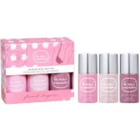 Le Mini Macaron Limited Edition French Lingerie Gel Polish Trio