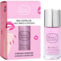 Le Mini Macaron Rose Kiss Nail & Cuticle Oil 10ml