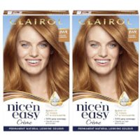 Clairol Nice' n Easy Creme Natural Looking Oil Infused Permanent Hair Dye Duo (Various Shades) - 8WR