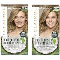 Clairol Natural Instincts Semi-Permanent No Ammonia Vegan Hair Dye Duo (Various Shades) - 8A Medium