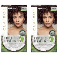 Clairol Natural Instincts Semi-Permanent No Ammonia Vegan Hair Dye Duo (Various Shades) - 4RR Dark R