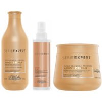 L'Oreal Professionnel Absolut Repair at Home Experts for Damaged Hair Bundle