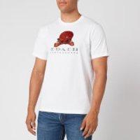 Coach Men's Happy T-Shirt - White - XL