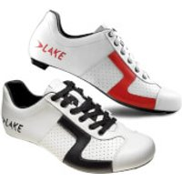 Lake CX1C Road Shoes - EU 43 - White/Black