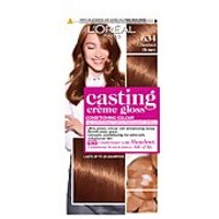 L'Oréal Paris Casting Crème Gloss Semi-Permanent Hair Dye (Various Shades) - 634 Chesnut Honey Brown