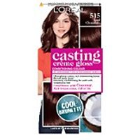 L'Oreal Paris Casting Creme Gloss Semi-Permanent Hair Dye (Various Shades) - 515 Chocolate Truffle