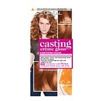 L'Oréal Paris Casting Crème Gloss Semi-Permanent Hair Dye (Various Shades) - 734 Rich Honey Blonde