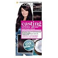 L'Oreal Paris Casting Creme Gloss Semi-Permanent Hair Dye (Various Shades) - 3102 Cool Dark Brown