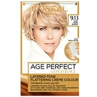 L'Oreal Paris Age Perfect Hair Dye (Various Shades) - 9.13 Light Ivory Blonde