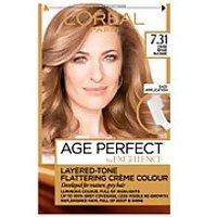 L'Oreal Paris Age Perfect Hair Dye (Various Shades) - 7.31 Dark Beige Blonde