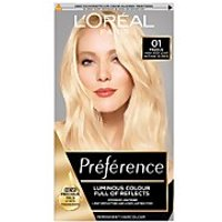 L'Oreal Paris Preference Infinia Hair Dye (Various Shades) - 01 Prague Very Very Light Natural Blond