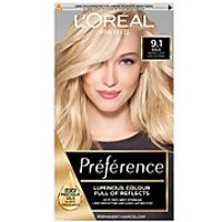 L'Oréal Paris Préférence Infinia Hair Dye (Various Shades) - 9.1 Viking Light Ash Blonde