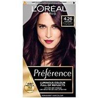 L'Oreal Paris Preference Infinia Hair Dye (Various Shades) - 4.26 Burgundy