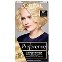 L'Oréal Paris Préférence Infinia Hair Dye (Various Shades) - 03 Lightest Ash Blonde