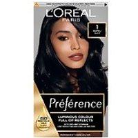 L'Oreal Paris Preference Infinia Hair Dye (Various Shades) - 1 Napoli Black