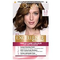 L'Oreal Paris Excellence Creme Permanent Hair Dye (Various Shades) - 5.3 Natural Golden Brown