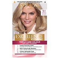 L'Oreal Paris Excellence Creme Permanent Hair Dye (Various Shades) - 9.1 Natural Light Ash Blonde