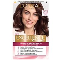 L'Oreal Paris Excellence Creme Permanent Hair Dye (Various Shades) - 5.15 Natural Iced Brown