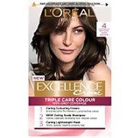 L'Oreal Paris Excellence Creme Permanent Hair Dye (Various Shades) - 4 Natural Dark Brown