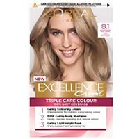 L'Oréal Paris Excellence Crème Permanent Hair Dye (Various Shades) - 8.1 Natural Ash Blonde