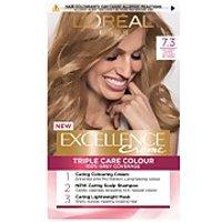 L'Oreal Paris Excellence Creme Permanent Hair Dye (Various Shades) - 7.3 Natural Dark Golden Blonde