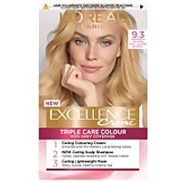 L'Oréal Paris Excellence Crème Permanent Hair Dye (Various Shades) - 9.3 Natural Light Gold Blonde