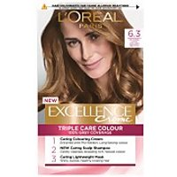 L'Oreal Paris Excellence Creme Permanent Hair Dye (Various Shades) - 6.3 Natural Light Golden Blonde