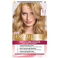 L'Oreal Paris Excellence Creme Permanent Hair Dye (Various Shades) - 8.3 Natural Golden Blonde