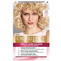 L'Oréal Paris Excellence Crème Permanent Hair Dye (Various Shades) - 10 Natural Baby Blonde
