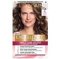 L'Oreal Paris Excellence Creme Permanent Hair Dye (Various Shades) - 6 Natural Light Brown