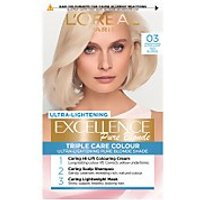 L'Oréal Paris Excellence Crème Permanent Hair Dye (Various Shades) - 03 Ultra-Light Ash Blonde