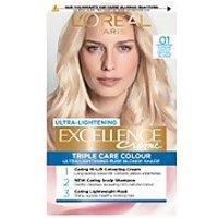 L'Oreal Paris Excellence Creme Permanent Hair Dye (Various Shades) - 01 Lightest Natural Blonde