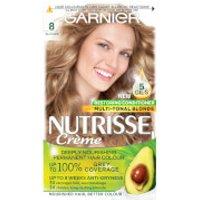 Garnier Nutrisse Permanent Hair Dye (Various Shades) - 8 Blonde