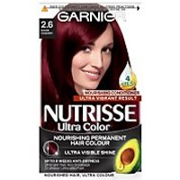 Garnier Nutrisse Permanent Hair Dye (Various Shades) - 2.6 Dark Cherry Red