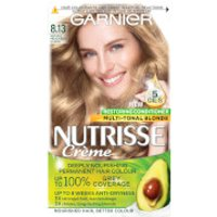 Garnier Nutrisse Permanent Hair Dye (Various Shades) - 8.13 Medium Beige Blonde