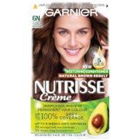 Garnier Nutrisse Permanent Hair Dye (Various Shades) - 6N Nude Light Brown