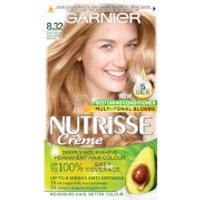 Garnier Nutrisse Permanent Hair Dye (Various Shades) - 8.32 Gold Pearl Blonde