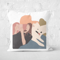 Reading Buddies Square Cushion - 50x50cm - Soft Touch