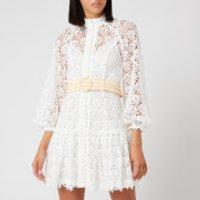 Zimmermann Women's Empire Fit Flare Short Dress - Ivory - 1/UK 10