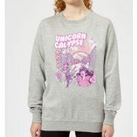 Ilustrata Unicorn Apocolypse Women's Sweatshirt - Grey - M - Grey
