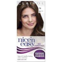 Clairol Nice'n Easy Semi-Permanent Hair Dye with No Ammonia (Various Shades) - 78 Medium Gold Brown