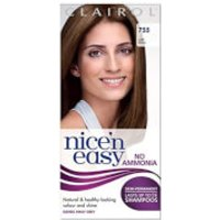 Clairol Nice'n Easy Semi-Permanent Hair Dye with No Ammonia (Various Shades) - 755 Light Brown