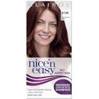 Clairol Nice'n Easy Semi-Permanent Hair Dye with No Ammonia (Various Shades) - 81RR Dark Mahogany