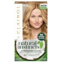 Clairol Natural Instincts Semi-Permanent No Ammonia Vegan Hair Dye 177ml (Various Shades) - 9 Almond