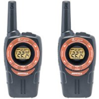 Cobra SM662C Walkie Talkie with 8km Range, Power Saving Function and Rechargeable Batteries