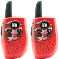 Cobra HM230 'Hero Series' Kids Compact Walkie Talkie with 3km Range and Power Saving Function - Red